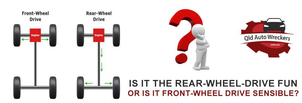 Is it the rear-wheel-drive fun or is it front-wheel drive sensible?