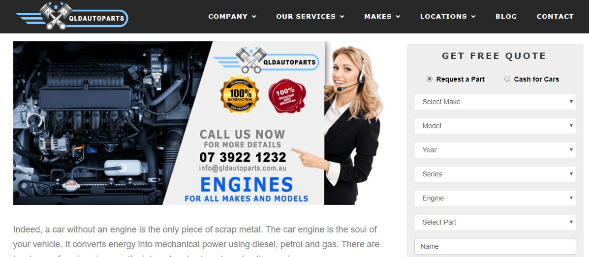 used auto parts brisbane