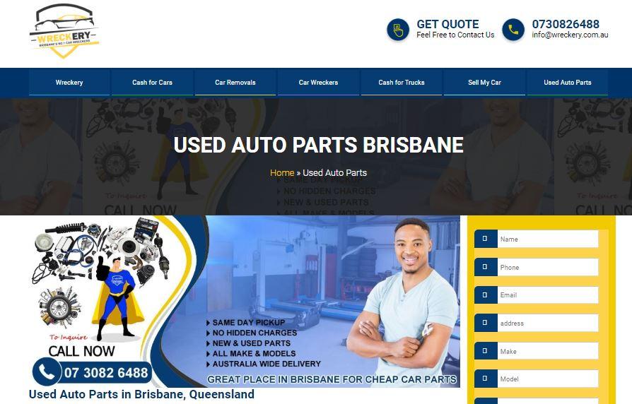 Used Auto Parts in Brisbane