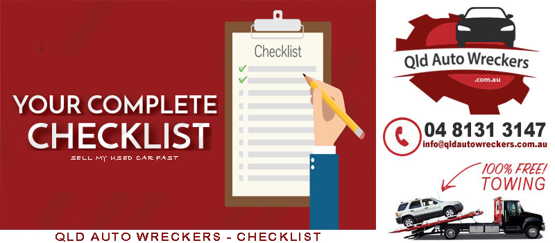 Sell Used Car To Wrecker Checklist